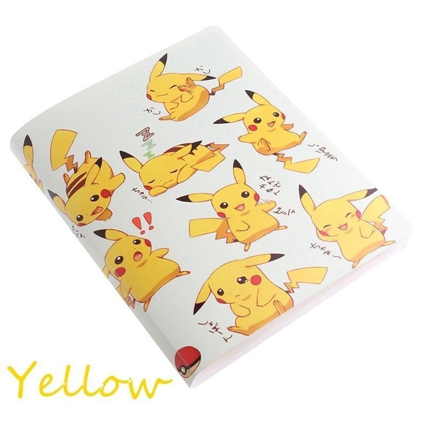Pikachu Collection 324 Pokemon cards Album Book List holder pokemon#1