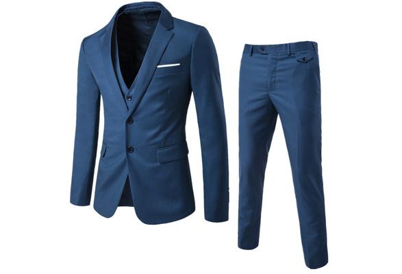 2018 US SIZE Business Casual Suit Three Suits Men's Wedding Fashion Men's Suits