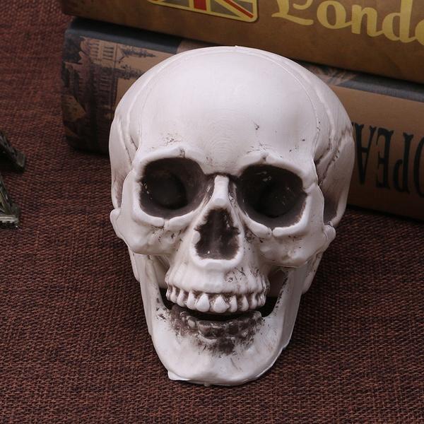 Mini, Head, Skeleton, skull