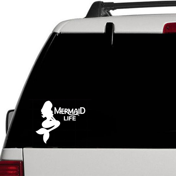 Mermaid Car Decal Sticker