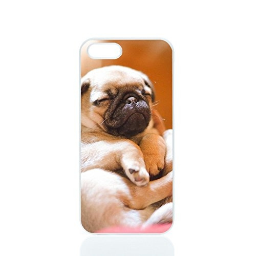 buy popular 0facf d0ad8 Cute Animal Cell Phone Pug Puppy Dog Phone Case Skin Cover Samsung Galaxy  S3/S4/S5/S6/S7/Note 2/Note 3/Note 4/Note 5 and IPhone ...