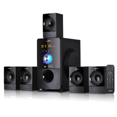 Speakers, Speaker Systems, Home Theater Systems, black