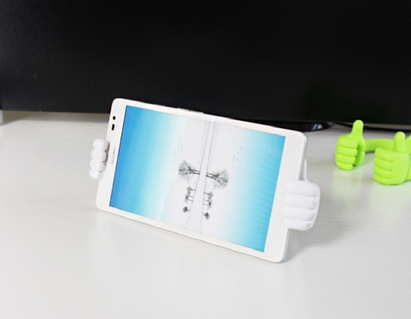Originality Mobile Phone Holder Thumbs Modeling Phone Stand Bracket Holder Mount for IPhone6 Samsung Cell Phone Tablets