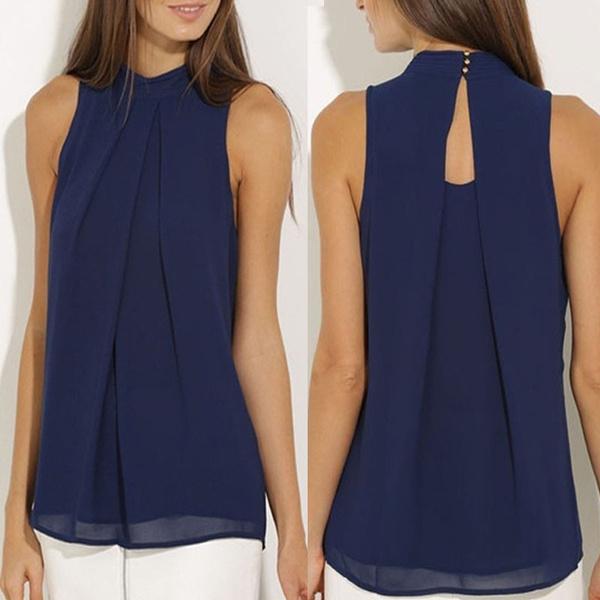 chiffon off shoulder blouse
