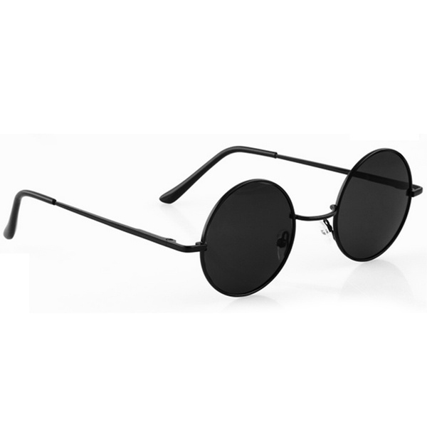 Unisex Retro Glasses Lens Round Sunglasses Eyeglasses 1lTJcK3F