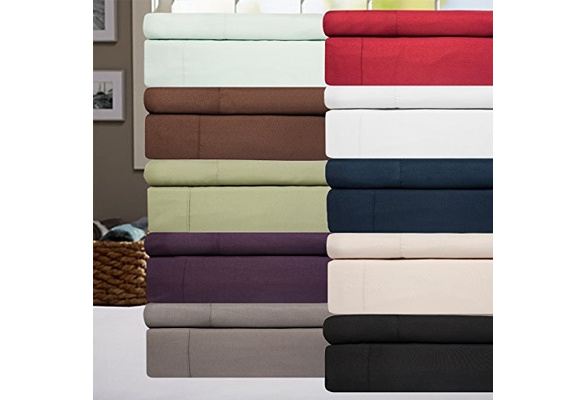 High Threadcount Egyptian Quality Deep Pocket Bed Sheet Set