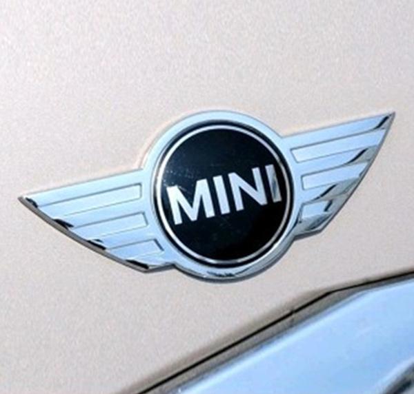 Car Styling 3d Metal Mini Cooper Sticker For Mini Car Front Badge