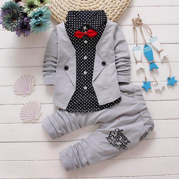 Kid Baby Boy Gentry Kleider Set Festliche Taufe Hochzeit Tuxedo Bogen Anzug