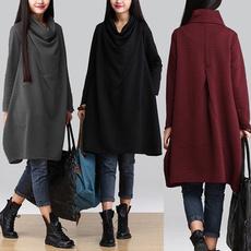 womens dresses, Vintage dress, long shirt, womens pullovers