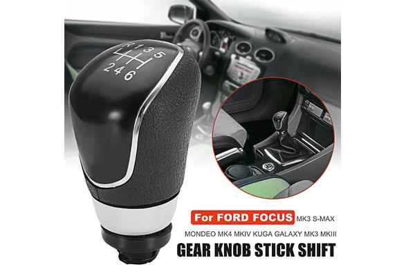 Focus mk2 FL//Focus mk3 Kuga//Transit C max//C max FL//B max//Mondeo mk4 6 Speed car shifter Gear Shift Knob Gear lever Gear Accessories for Fiesta mk7 S max//Galaxy mk3