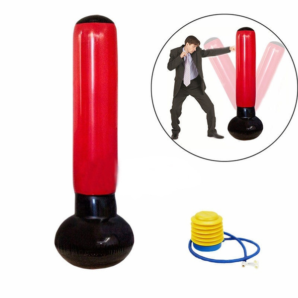 Inflatable Punching Bag Stand Tower Bags Sd Boxing Training