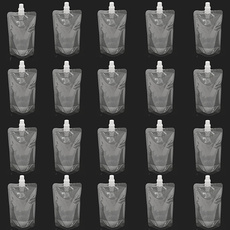 Cap, Botellas, spoutbag, flasktransparentpouch