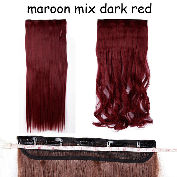 Wish Snoilite 5clips Clip In Hair Extensions Half Full Head Sexy