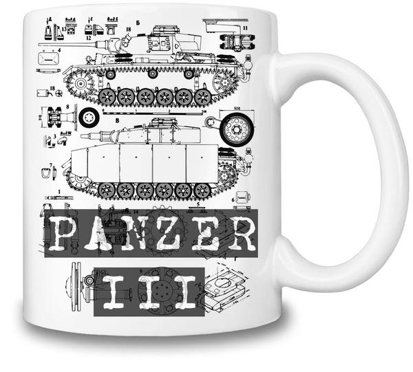 Wish panzer 3 blueprint coffee mug ceramic coffee tea beverage wish panzer 3 blueprint coffee mug ceramic coffee tea beverage kitchen mugs by bang bangin malvernweather Images