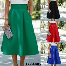 vintageskirt, xcasual, high waist, Bottom