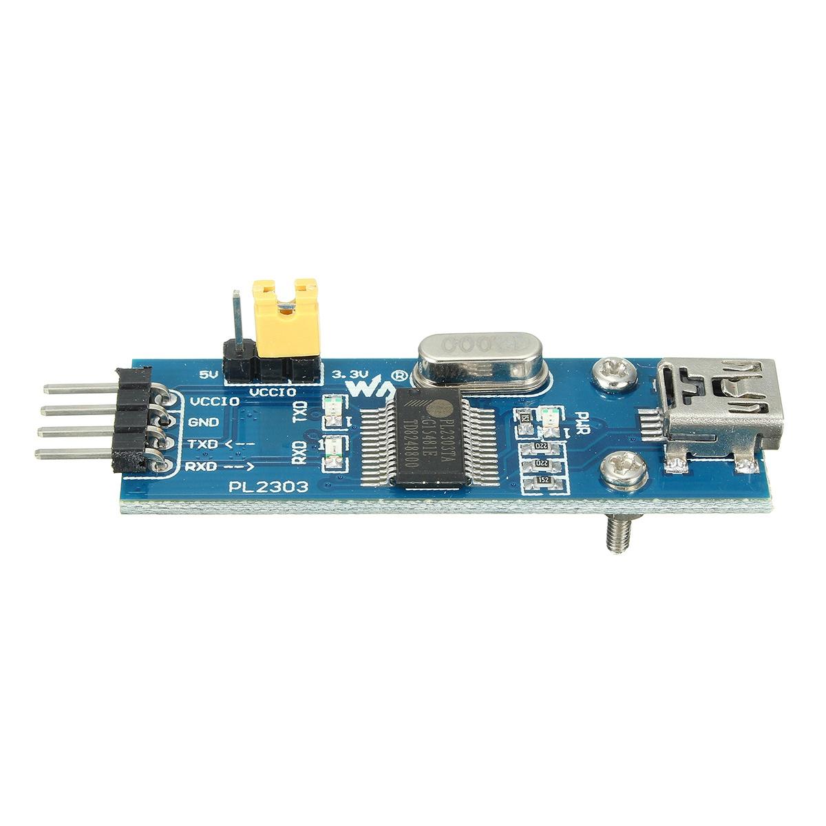 TXD//RXD//POWER LED UART interface VCC 5V or 3.3V PL2303 USB UART Board mini