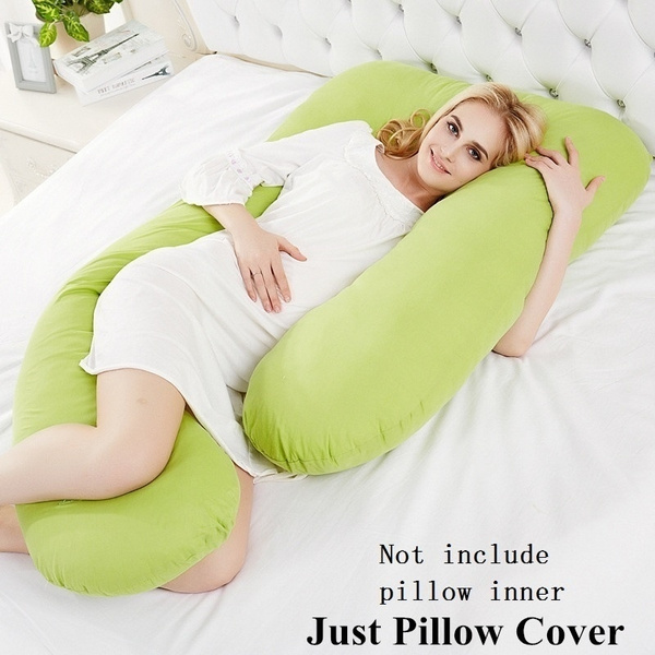 Only Pillow Case U Shape Comfort Body full Pregnancy Maternity Pillow Cover