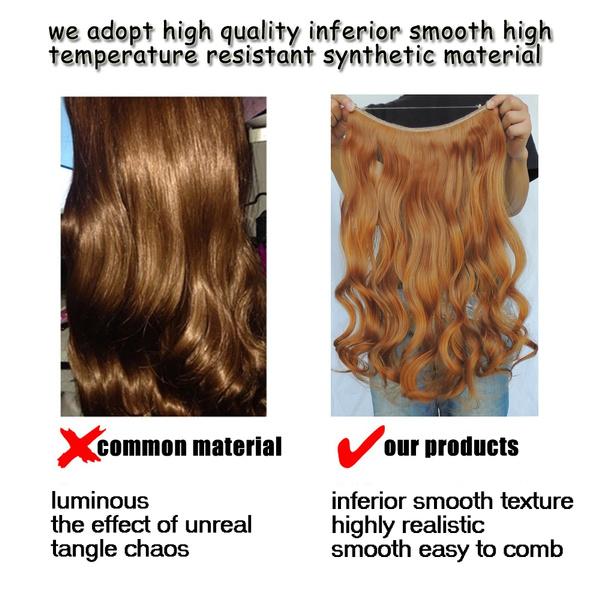 Wish Fast Hair Extensions Japanese Fiber Rallonge De Cheveux Color