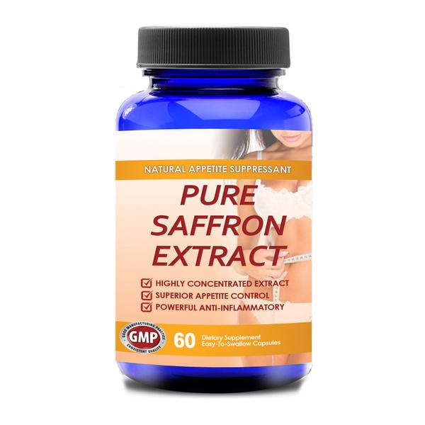 100 Percent Pure Non Gmo Saffron Extract 60 Capsules Wish