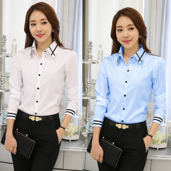 Blues, white tops, Shirt, Spring