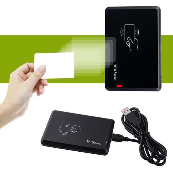 USB RFID Contactless Proximity Sensor Smart ID Card Reader 125K EM4100 Linux