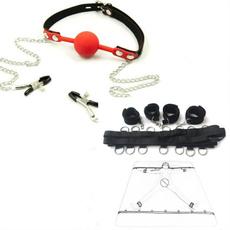 adulttoysforwomencouplessexproduct, Harness, bondage, leathermouthplug