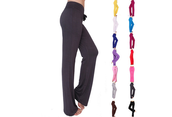 LOMISS High Quality Women's Yoga Pants Casual Modal Trousers Fitness Sports Dance Pants Plus Size wlmC16122400277A05