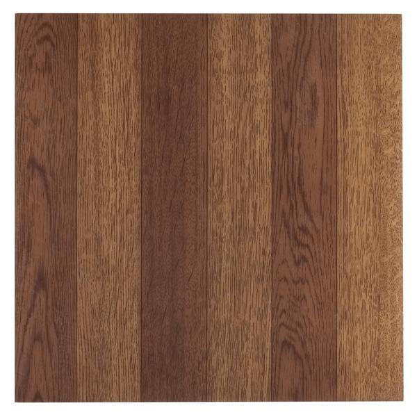 Wish Achim Tivoli Medium Oak Plank Look 12x12 Self Adhesive Vinyl