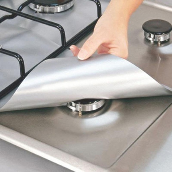 Home Reusable Gas Range Stovetop Burner Protector Liner Cover For Cleaning Kitchen Tools wmwC17011200621C45