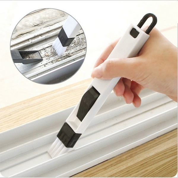 The Window Window Groove Groove Cleaning Brush With Cleaning Dustpan Screen Window Cleaning Tools