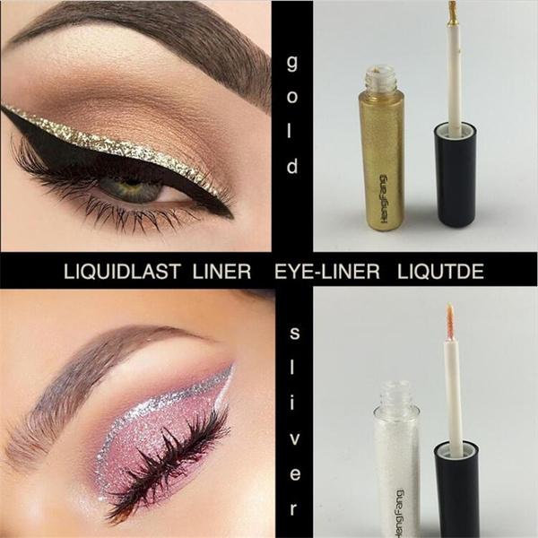 Picture of Liquid Glitter Eyeliner Eyeshadow Shiny Long Lasting Waterproof Makeup Cosmetic