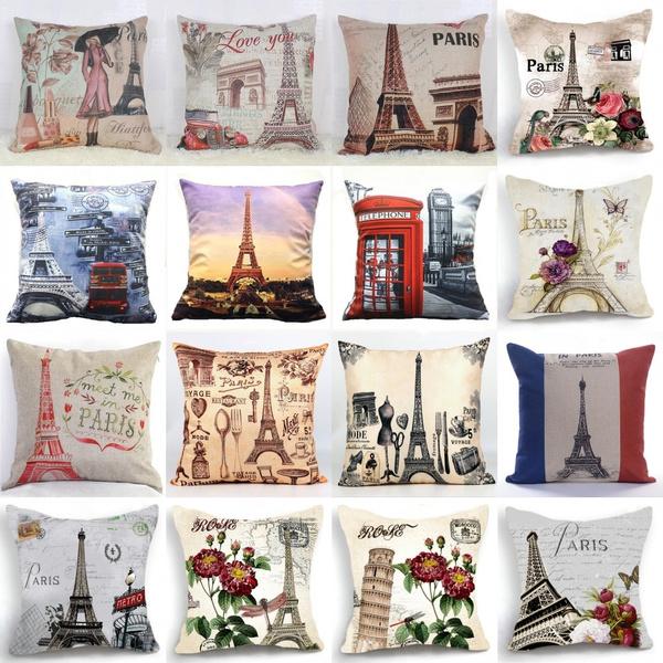 parisfashion, Home Decor, bedroom, Pillowcases