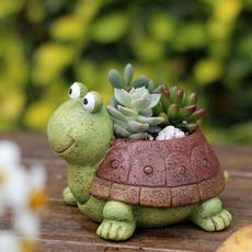 Turtle, creativeflowerpot, flowerpotholder, art