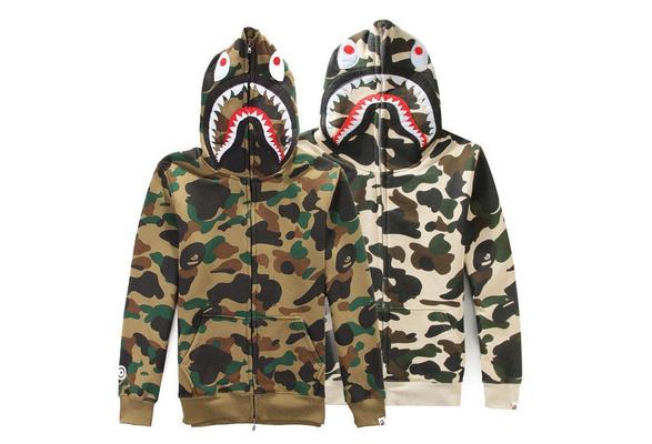 Bape A Bathing Ape Mens Colorful Hoodie Sweatshirt Unisex Jacket Zip TEE Hot
