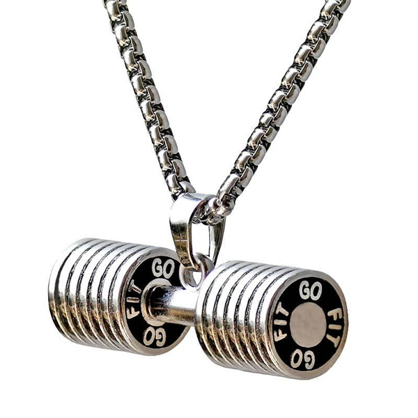 Steel, Jewelry, Fitness, unisex