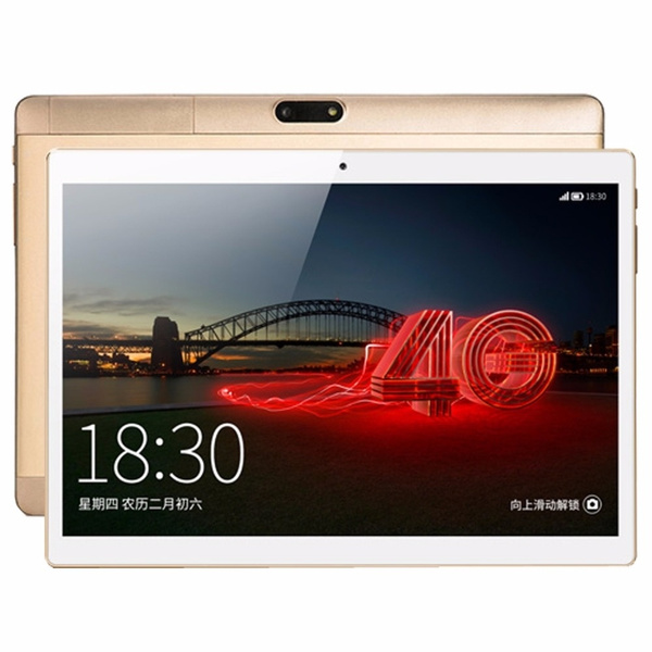 Picture of 2017 New 10 Inch Octa Core Unlock 3g Wcdma Tablet 4gb Ram 32gb Rom Dual Sim Cards Cellular Android 5.1 Gps Tablette 10 10.1 Gift