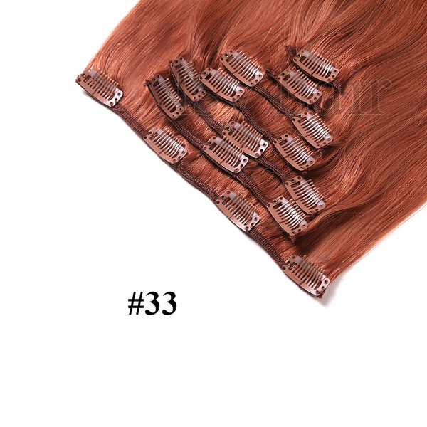 Wish 7 Pieceslot Clip In Hair Extensions Brazilian Virgin Hair