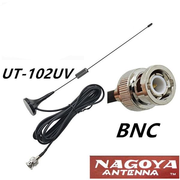 Nagoya UT-102UV 144/430Mhz 2 15dB BNC Magnet 30cm Antenna w/3m Cable