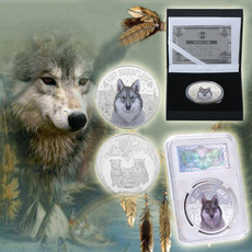 wildlifeanimal, Collectibles, silvercoin, Jewelry
