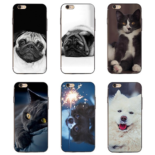 Image of: Drawing Home 3d Animals Dog Cat Kawaii Case Cover For Iphone 6s Plus Samsung Galaxy S6 S7 Apk4everclub Home 3d Animals Dog Cat Kawaii Case Cover For Iphone 6s Plus