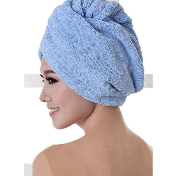 Fiber Bath Spa Hats Salon Dryer Towels Quick Dryer Towel Hair Drying Magic Dryer