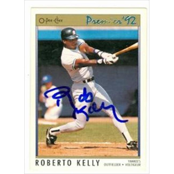 Wish Autograph Warehouse 42155 Roberto Kelly Autographed