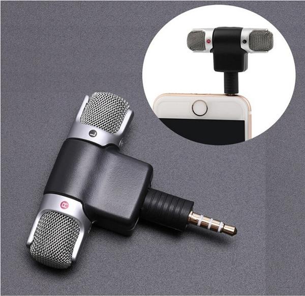 Mini-enregistreur professionnel Microphone stéréo de microphone de Digitals Portable pour Smartphones PC
