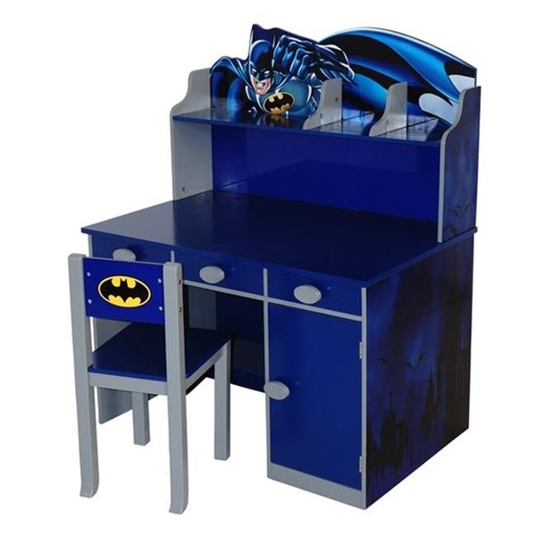 Enjoyable Okids Batman Writing Desk With Chair Machost Co Dining Chair Design Ideas Machostcouk