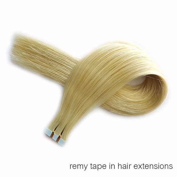 Wish New Pu Hair Skin Weft Tape In Remy Human Hair Extensions
