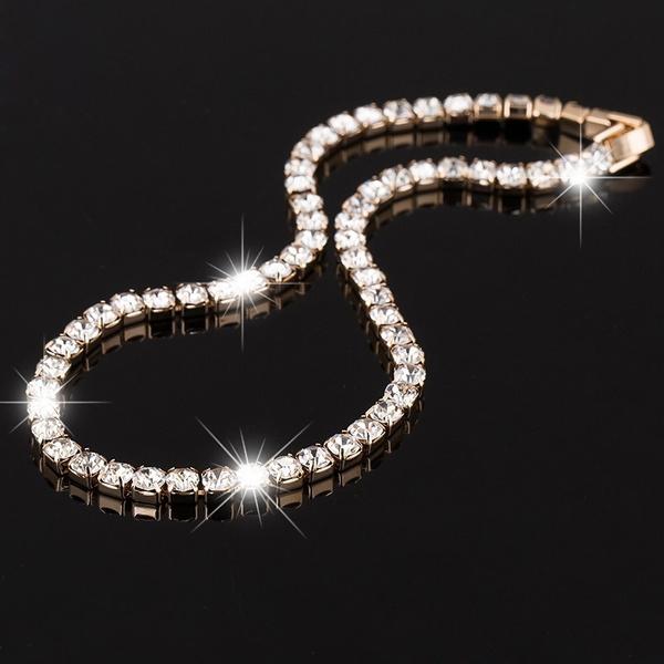 Cubic Zirconia, Chain Necklace, Necklaces Pendants, Choker