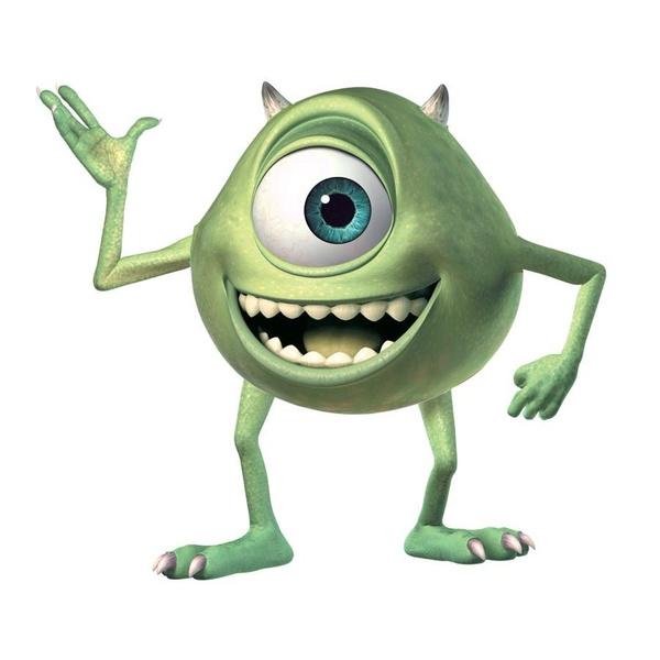 Monsters Inc Giant Mike Wazowski L