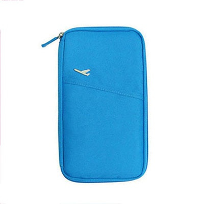 Wish | New Arrive Korean Style Passport Wallet Travelus Polyester Multifunction Credit Card Package ID Holder Travel Storage Bag