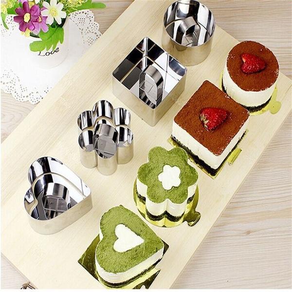 Bakeware, Heart, flowercakemold, Baking