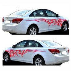 Car Sticker, flamecarsticker, Waterproof, Cars